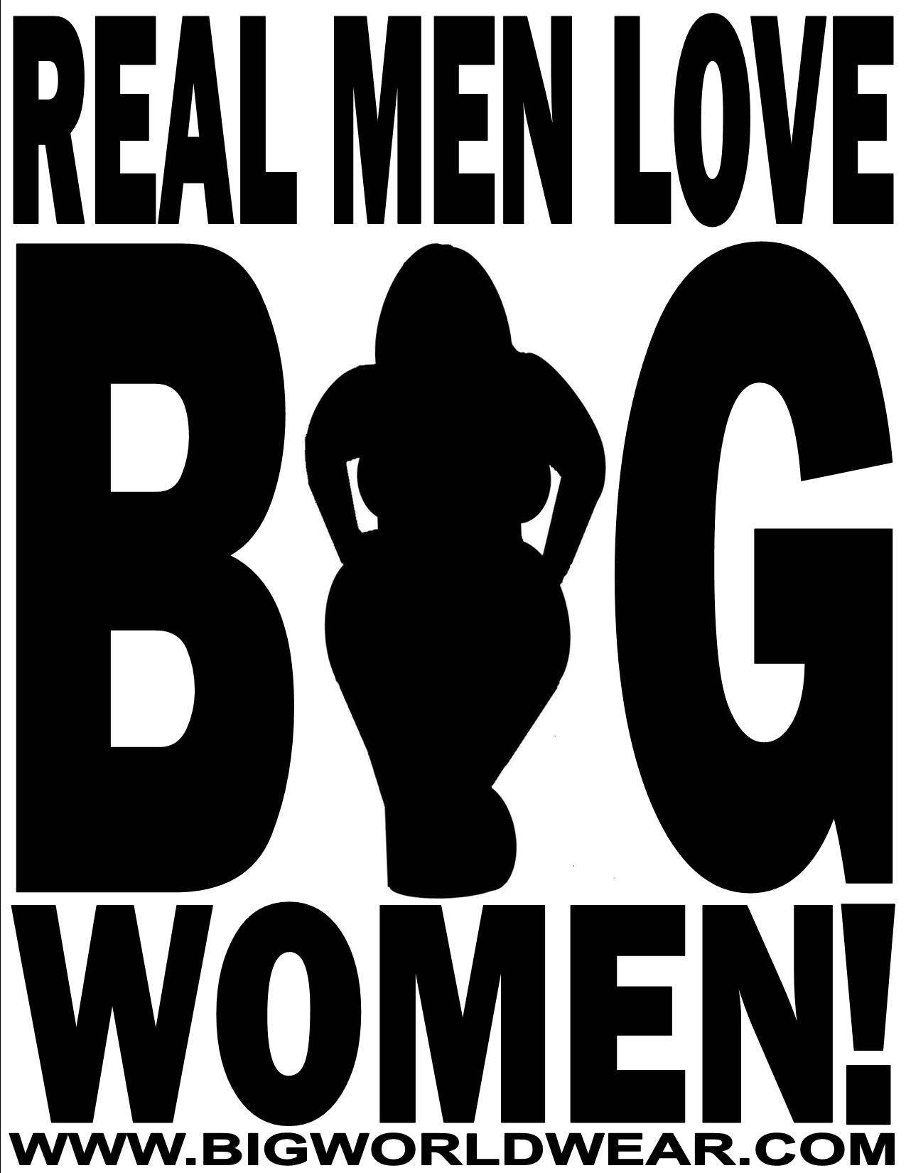 guys who love big women